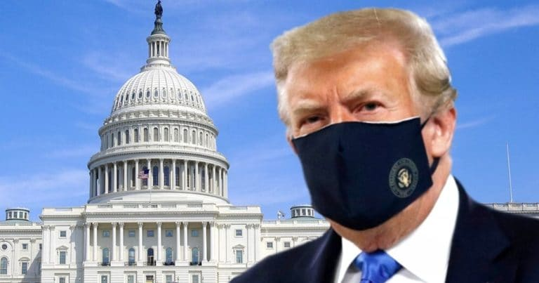 Hours After DC Mayor Mandates Masks, $1,000 Fine – Trump May Be Investigated For Going Maskless In His DC Hotel