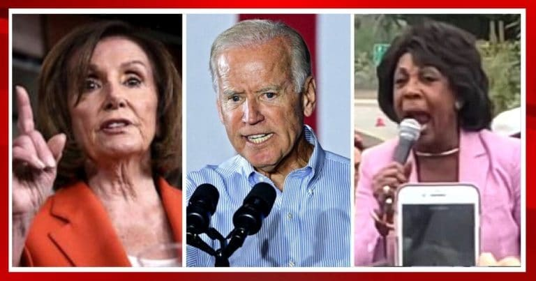 Video Of Democrat Leaders Pelosi, Biden And Maxine Resurface After They Try To Condemn Riots