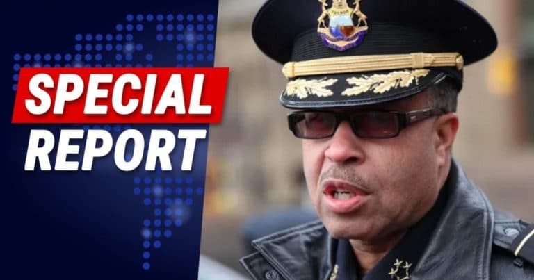 "Detroit Police Chief Pulls Back Curtain On Riots – It's Not Actually About Equality, It's ""Total Anarchy"""