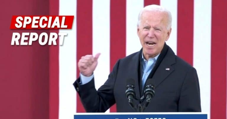 Joe Biden Caught On Hot Mic In Swing State – NC Governor Tells Joe He'll Drag Scandal-Plagued Cunningham Over The Line