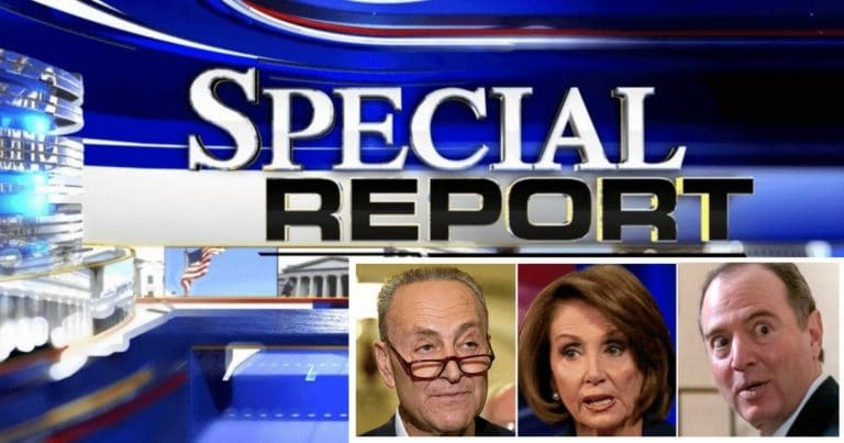 Pelosi, Schumer And Schiff Get Ripped Up – A Trump Supporter Behind Donald Just Tore Up Their Photos