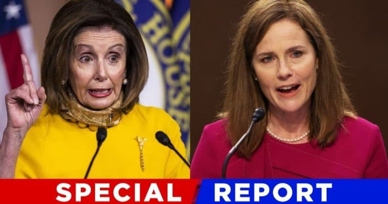 Pelosi Just Crossed The Line On Supreme Court – Nancy Called Amy Coney Barrett An 'Illegitimate' Justice'