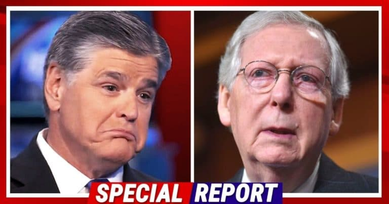 Mitch McConnell Could Be In Trouble Already – Sean Hannity Calls For Senate Republicans To Replace Him