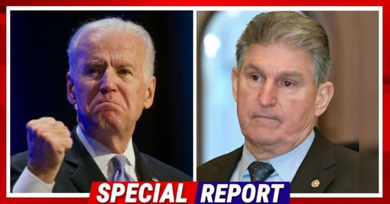 Joe Vs. Joe – Democrat Manchin Just Turned On Biden, Claims Ending Keystone Is Swapping Oil From Canada With Oil From Venezuela