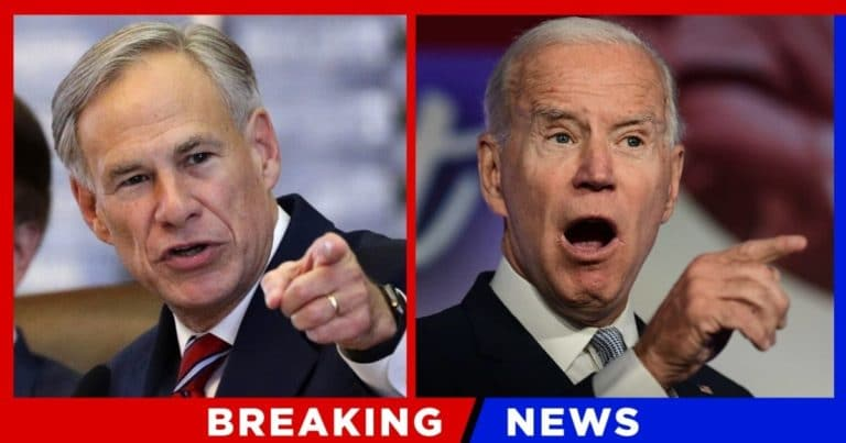 Texas Governor Hammers Biden With Accusation – There Has been A Stunning 800% Increase